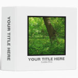 Square Photo (2in) - Spring in the Woods 3 Ring Binder