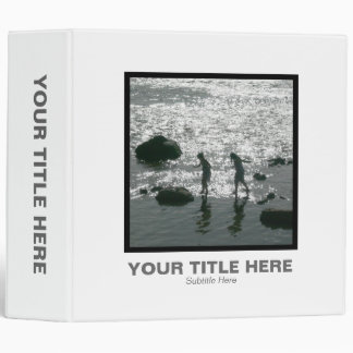 Square Photo (2in) - Stepping Stones 3 Ring Binder