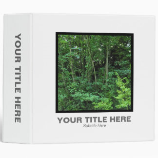 Square Photo (2in) - Trees and Shrubs 3 Ring Binder