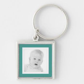 Square Photo Cute Instagram Personalized Keychain