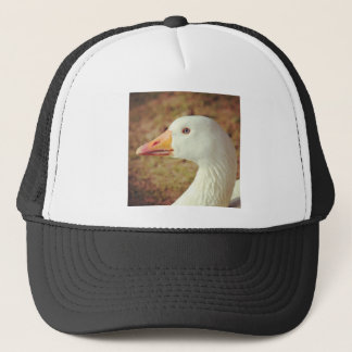 Square Photo - Goose (Close-up) Trucker Hat