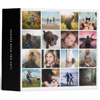 Square Photo Grid Instagram Collage Binder