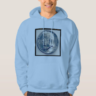 Square Photo - JFK Half Dollar Hoodie