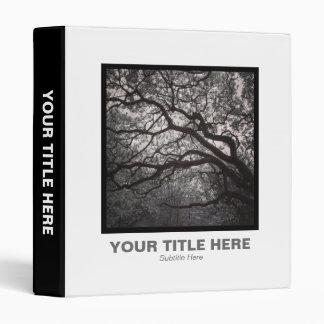 Square Photo - Magnolia Tree in Blossom 01 Binder