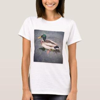 Square Photo - Mallard Duck T-Shirt