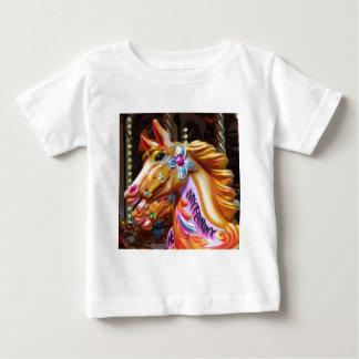 Square Photo - Merry-go-round Horses Tshirts