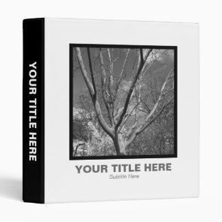 Square Photo - Sun Worshipping Tree Binder