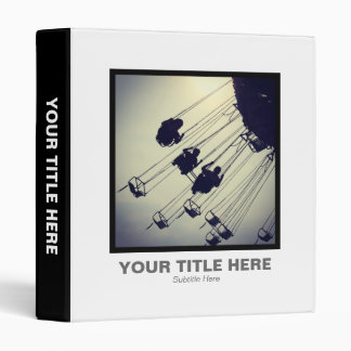 Square Photo - Swing Roundabout 3 Ring Binder