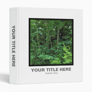 Square Photo - Trees and Shrubs Binder