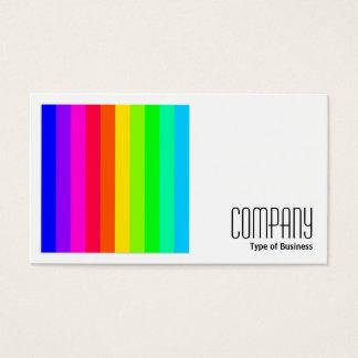 Square Photo (v2) - Color Bars 03 Business Card