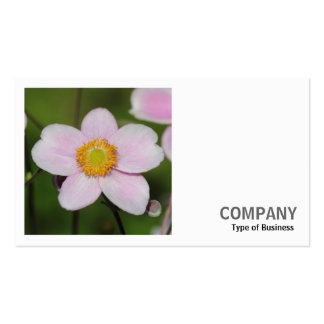 Square Photo (v2) - Pink Anemone Business Card