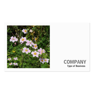 Square Photo (v2) - Pink Anemones Business Card