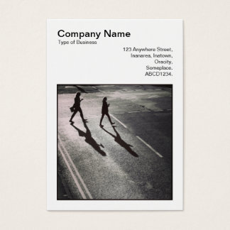 Square Photo (v3) - Crossing the Road Business Card