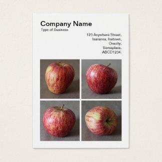 Square Photo (v3) - Four Apples Business Card