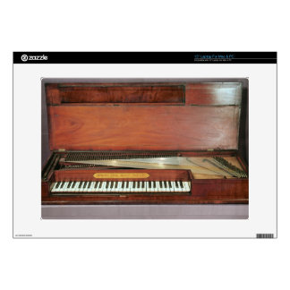 """Square piano 1767 photo decals for 15"""" laptops"""