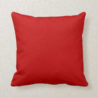 Square Pillow Red Cushion Block Colors Pillow