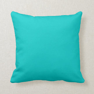 Square Pillow Teal Cushion Block Colors Throw Pillows