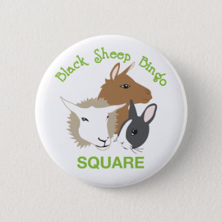 Square Pinback Button