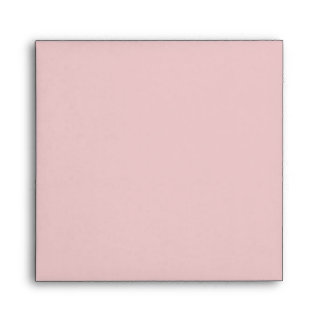 Square Pink Brown Linen Envelopes