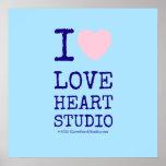 i [Love heart]  love heart studio i [Love heart]  love heart studio Square Posters