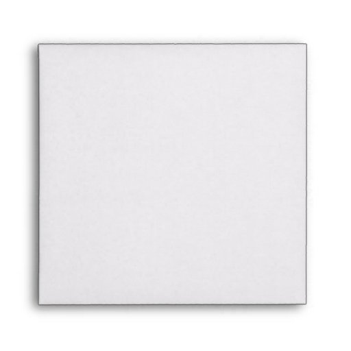 "Square Rainbow Invitation Envelope – 5 ½"" x 5 ½"