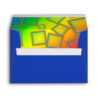 Square rainbows envelope