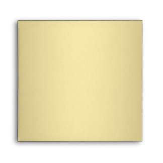 Square Red Gold Linen Envelopes