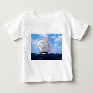 Square rigger at sea baby T-Shirt