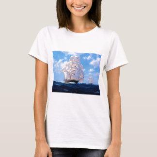 Square rigger at sea T-Shirt