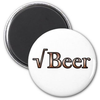 Square Root Beer Fridge Magnets