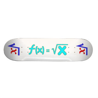 Square Root Function Geeky  Skateboard