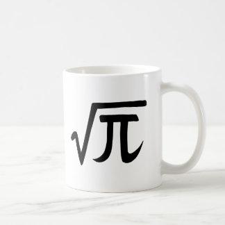 Square Root of Pi Irrational Number Mug Geek gift