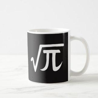 Square Root of Pi Irrational Number Mug Math Geek
