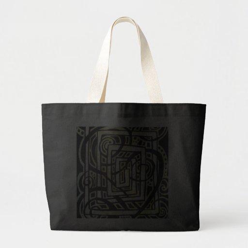 Square Roots Jumbo Tote Bag