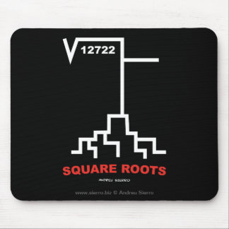 Square Roots Mouse Pad