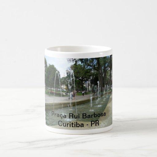 Square Rui Barbosa Coffee Mugs