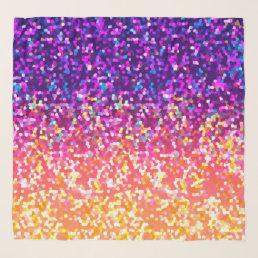 Square Scarf Glitter Graphic