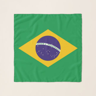 Square Scarf with flag of Brazil