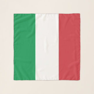 Square Scarf with flag of Italy