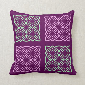 Square scatter cushion with a contemporary design