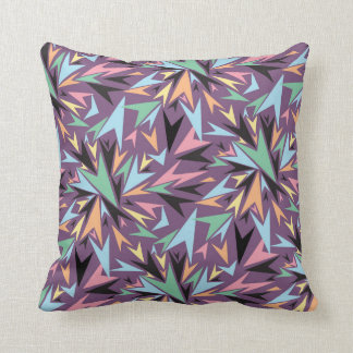 Square scatter cushion with bold design and colors
