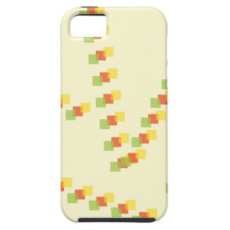 Square scribbles iPhone 5 cover