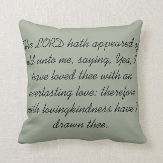 Square Scripture Pillow