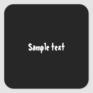 square  Shades - EDIT Color Shade ADD Text Image Square Sticker