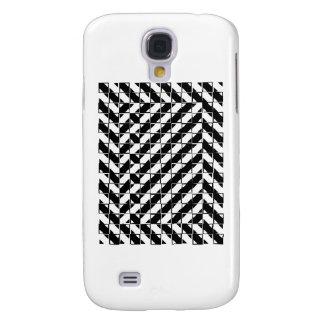 Square Shape Optical Illusion Samsung Galaxy S4 Cases