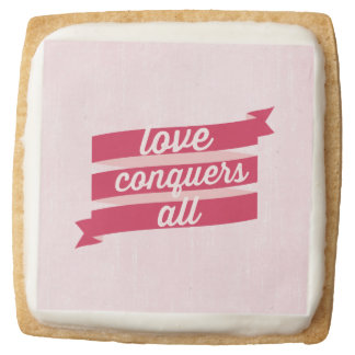 Square Shortbread Cookies - Pack of 4