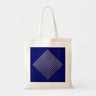 Square Silver  Studs Bag