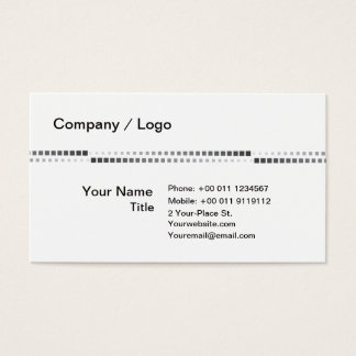 Square simple business card