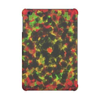 square sponge pattern iPad mini cases