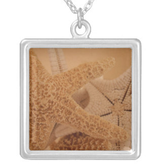Square Starfish Necklace